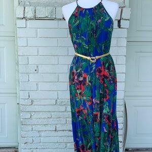 Rachel Roy Maxi high low floral summer dress